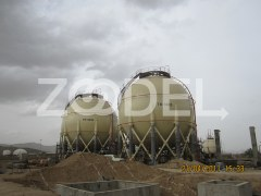 Construction of Spherical Tanks In Imam Khomeini Refinery Spherical Tanks Project Of Shazand - IPS Company