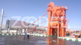Asphalt Production Machine - 60 to 160 Tons Per Hour Capacity - Machine Roll Company