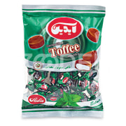 Center Filled Toffee with Mint - 100 g Package - Aidin Brand