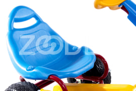 Chain Fourcycle - Suitable for Children 3-7 Y.O, Weight 9 kg, 73*29*58 cm - Model Speed Car, Gtoys Brand