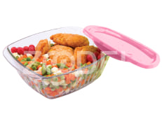 Baking Dish - Glass - Rectangular - Model : Manisa - Size 1 - Limon Brand