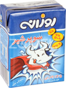 Super Milk - Enriched With Calcium, A, B & D Vitamins - 2.5% Fat, Long lasting, 200 Ml - Rouzaneh Brand