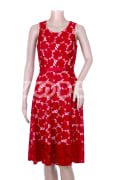 "Evening Dress - Lace - For Women - Roza Model - Brand ""Fabra"""