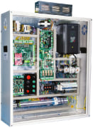 Elevator Control Panel - With Drive, Gear-less Motor, Emergency Rescue System, Single Phase - Arian Asansor Company
