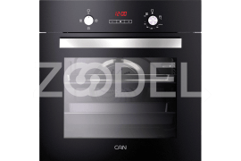 "Electric Oven - Built In, 59 Liter, With Double Glazed Glass, Timer, Maximum Temperature of 250°C - Model: TC360 - ""Can"" Brand"