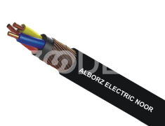 Concentric Cable - Black, Copper & PVC Material, Suitable For Outdoor, Under Ground,In Water, Buildings & Cable Canals - Alborz electric Noor Company