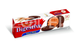 Digestive Biscuit With Chocolate Coating - 175 Gr Packs - Vitana Company