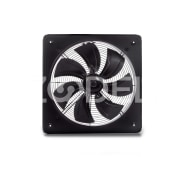 ILKA Industrial Fan With Seven Metal Blades & Frame - Horizontal & Vertical Mounting, High Efficiency, Low Noise, External Rotary Motor - Damandeh Company