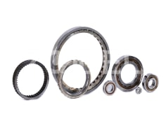 Sprang clutch bearings