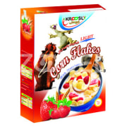 Corn Flakes with Strawberry - 375 gr - Krcoosly - Shahab Energy Sobh