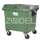 Wheels mechanized Containers 1100 Liters