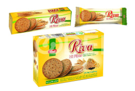 "4 Cereal Biscuit ""Riva"" With Cream & Black Seed - 96, 192 & 480 Gr Packs - Vitana Company"