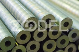 Сontinuous cast bronze pipes