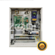 Elevator Control Panel - With Drive, Transmission Motor & Emergency Rescue System - Model : Eco Arco - Arian Asansor Company