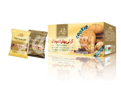 Cookie With Walnut & Raisins - 500 G Package, 12 Pcs - Behfar Lahijan