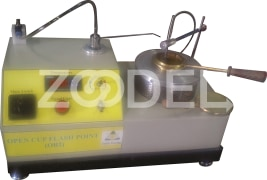 "Flash Point Tester - Open Cup - With Temperature And Heat Controller - Company ""Datis Energy"" - Model AO4"