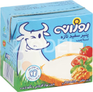 Fresh Cheese - Semi Fat - 515 Gr -  Fresh, Soft, With No Additives Or Preservatives - Bel Rouzaneh Brand