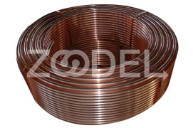Level Wound Coil Copper Tube
