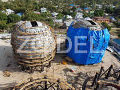 Construction of Spherical Tanks In LPG Liquid Gas Storage Project In Tanzania - IPS Company
