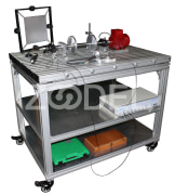 "Diagnostic and Simulator Kit For Rotating Machinery - Model : TS500 - Company ""Behineh Pardazesh Arman"""