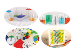 Mathematics Experiments Educational Kit for Primary School - EEI Brand