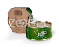 Canned Tuna Fish In Olive Oil - 180 Gr - Happy Fish Brand