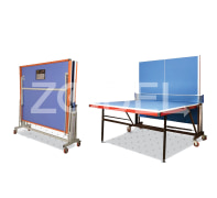 Tennis Table (Ping Pong) - Four Wheeled, Melamine Material, Model TT3 - Faraz Sport