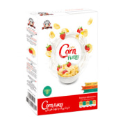 Corn Flakes with Strawberry 275 gr Penguin Shahab Energy Sobh