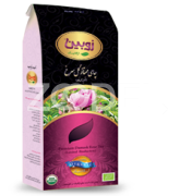 Tea With Damask Rose (Premium) - 100% Organic - 200 g Package - Zubin Brand