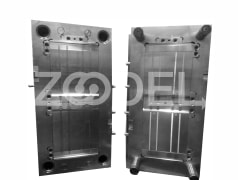 Cable tie mold