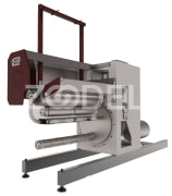 Winder Machine With Automatic Doffing System For BCF Lines - Shoka Iranian Knowledge Based Company