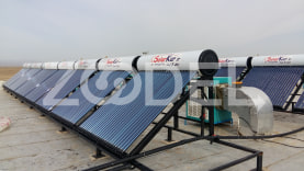 Solar Water Heater (High Pressure) - Model: Heat Pipe - Solar Kar Mehr Company