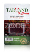 Organic Saffron of Qaenat - 2 g Package - Tarvand Saffron