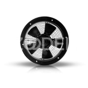 Axial Fan (German Design) - Horizontal & vertical mounting, with external rotor motor - Damandeh Company