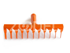 11 teeth Rake (Orange)