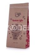 Medium Turkish Coffee - Robusta & Arabica Mix - 100 Gr - Black Coffee Brand