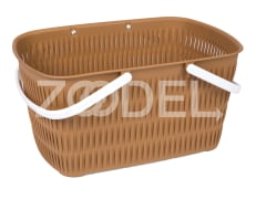 Basket For Shopping And Picnic - Without Lid -                                          Bamboo Design - Limon Brand - Model 1390