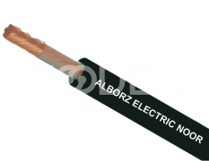 Non-Flexible Cable - With Black Shield, Copper & PVC Material - Alborz Electric Noor Company