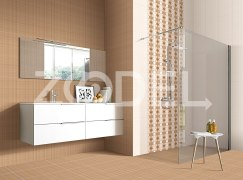 "Tile For Walls And Floor - Eco Friendly, Resistant To Acid, Alkali, Heat And Freezing - Scratch And Stain Proof - Company ""Setina Tile"" - Model : Zhino"