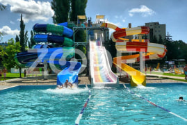 Water park equipment and Voski brand pool