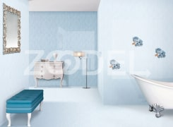 "Tile For Walls And Floor - Eco Friendly, Resistant To Acid, Alkali, Heat And Freezing - Scratch And Stain Proof - Company ""Setina Tile"" - Model : Sana"