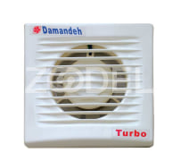 Extractor Fan - Domestic - Axial - Pipe Mount - Air Flow 24 To 250 m3/h - Brand : Damandeh - Model Turbo