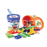 Play Doh In Sealed Bucket - 10 Colors - Arya Company - 1065