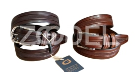 Genuine Cow Leather Belt For Men - Code : 46 - Gara Company