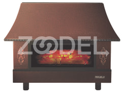 Fireplace Azar (Model: MC 24)