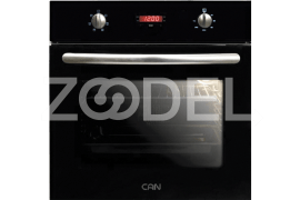 "Electric Oven - Built In, 59 Liter, With Double Glazed Glass, Timer, Maximum Temperature of 250°C - Model: TC367 - ""Can"" Brand"
