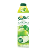 100% pure tart juice juice, packed in 1000 cc