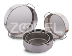 Cooking Sieve - Steel - Size 45*150 mm - Model H264 - Negar Steel Brand