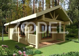 Wooden summer houses