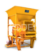 Vibrating Feeder - 180 Tons Per Hour Capacity For Feeding Material Production Line - Machine Roll Company